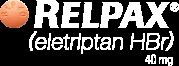 relpax eletriptan HBr 40mg